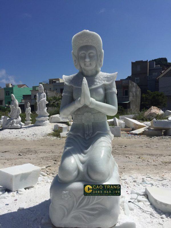 tượng vườn lâm tì ny sp001 -1