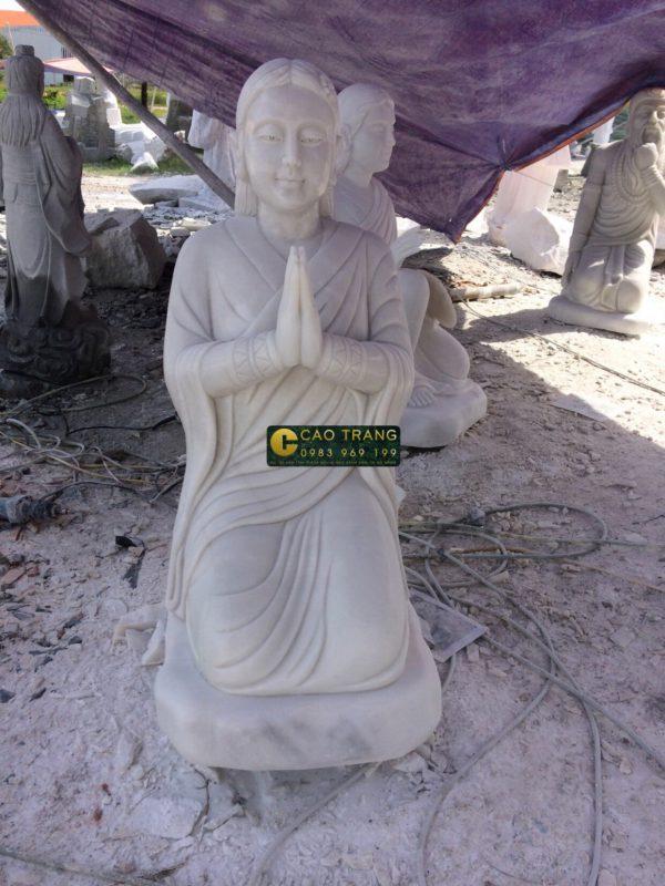 tượng vườn lâm tì ny sp001 -13
