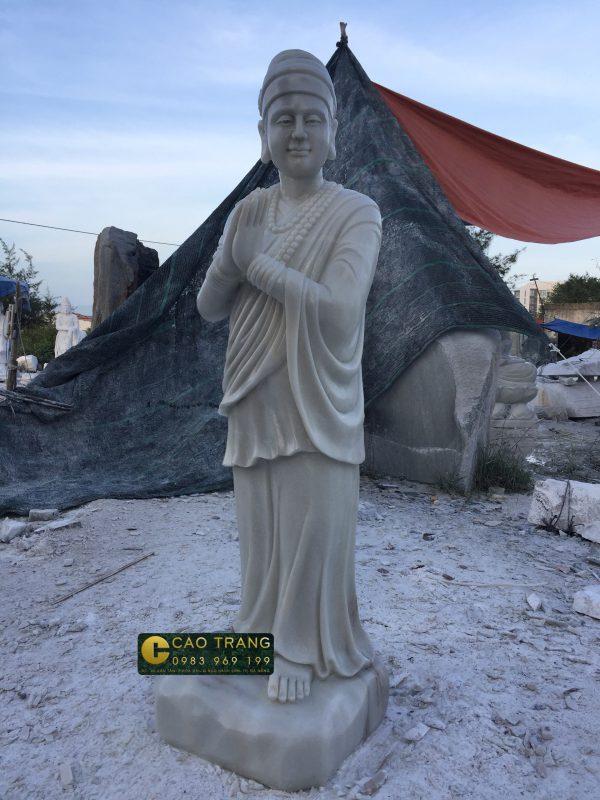 tượng vườn lâm tì ny sp001 -4