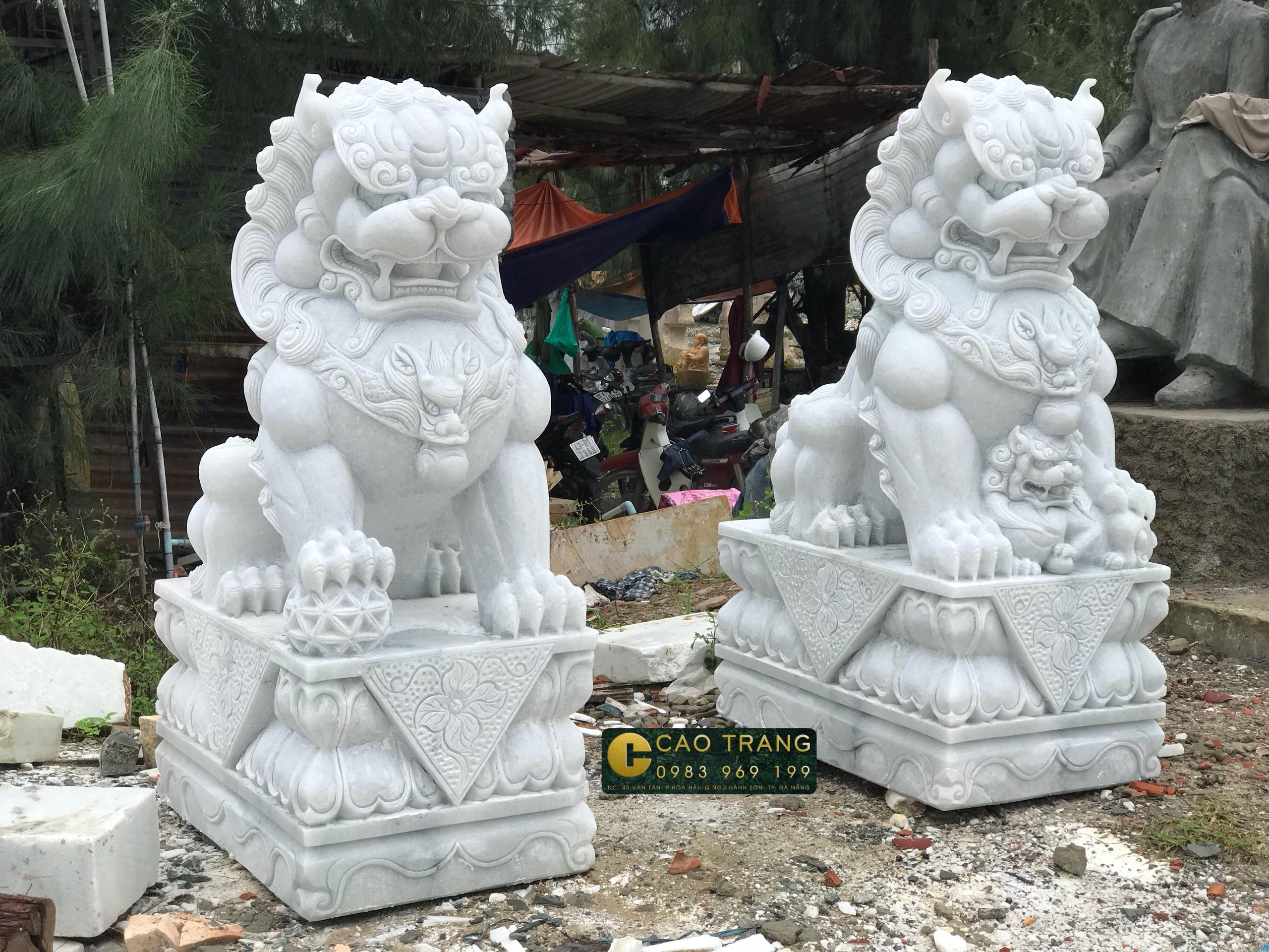 Kỳ Lân đá tại đá Cao Trang