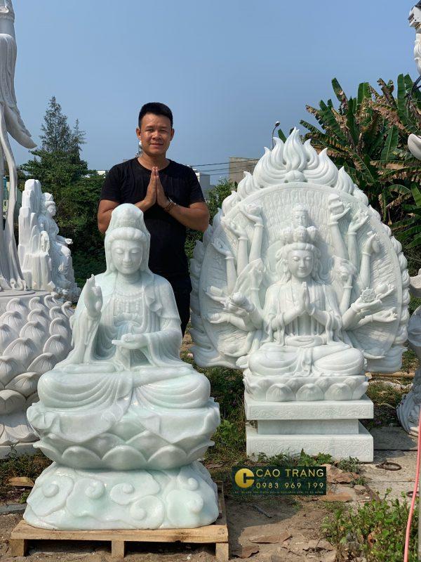 Tuong phat da da nang Đá Cao Trang (2)