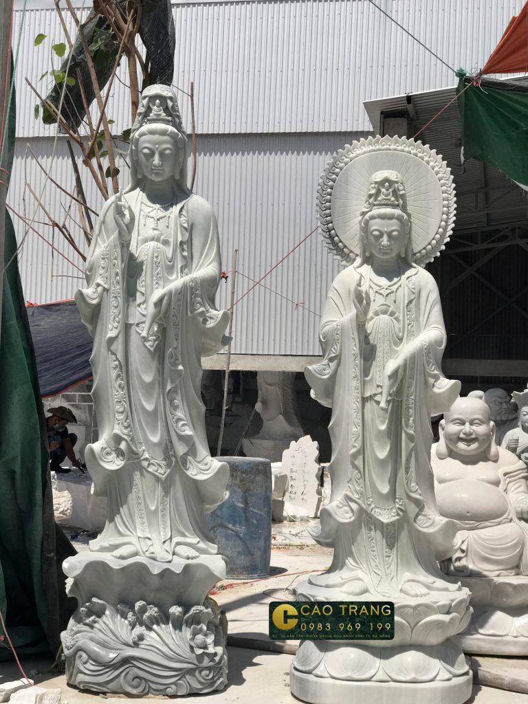 Tượng Phật Quan Âm bằng đá Đà Nẵng