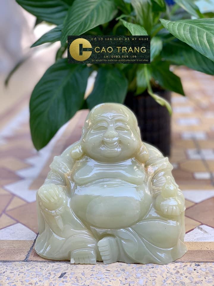 Phật Di Lặc tại tượng phật đá Cao Trang