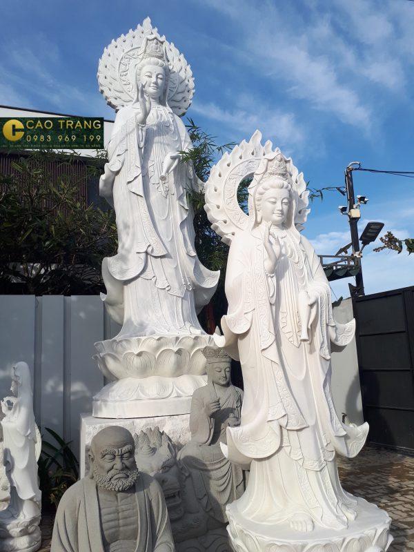 Tượng phật Quan Âm- Tượng phật đá Cao Trang (14)