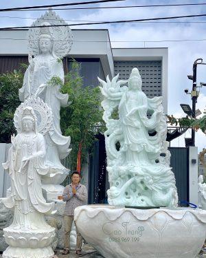 Tượng phật Quan Âm- Tượng phật đá Cao Trang