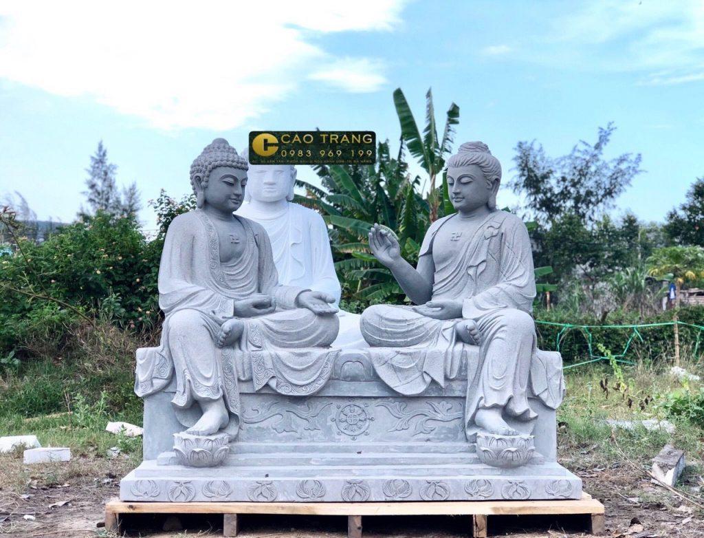 tượng phật đá bằng đá sa thạch