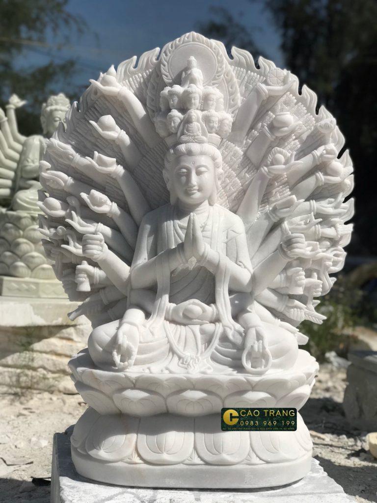 Mua tượng thiên thủ thiên nhãn bằng đá 8