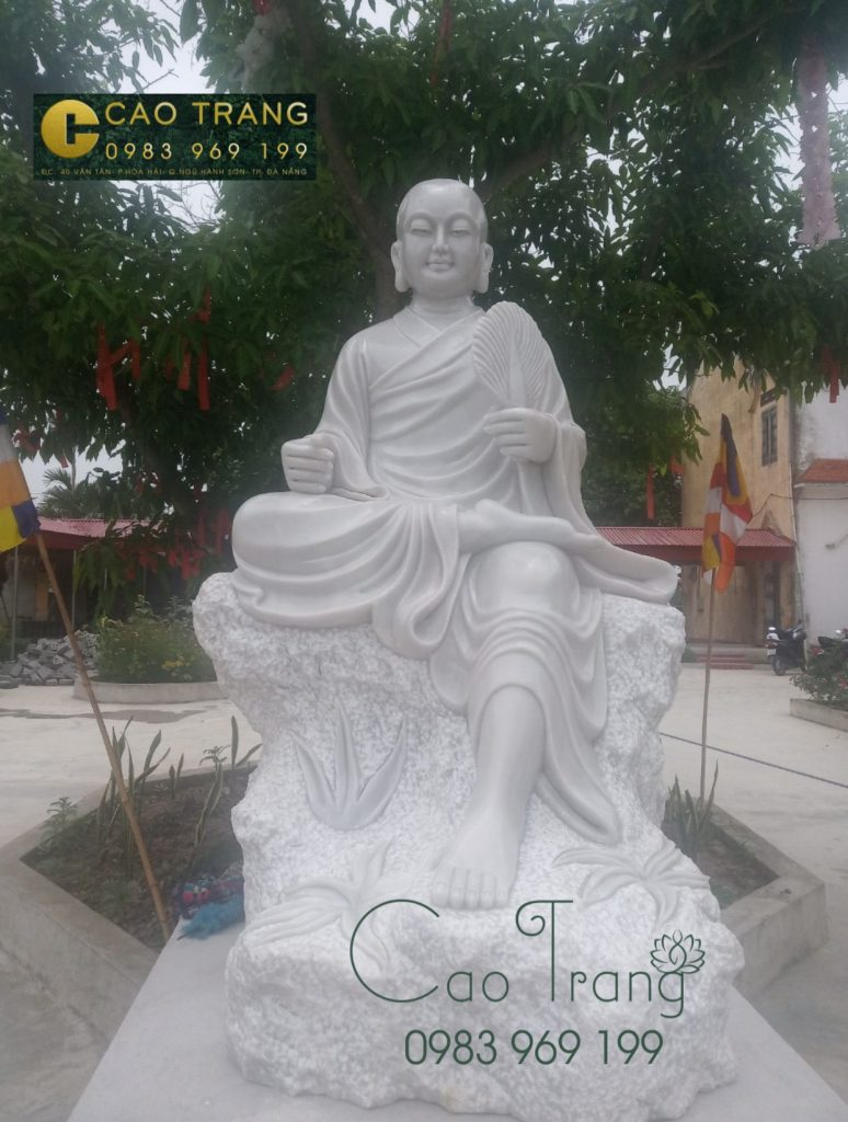 gia-tuong-phat-hoang-tran-nhan-tong-bang-da