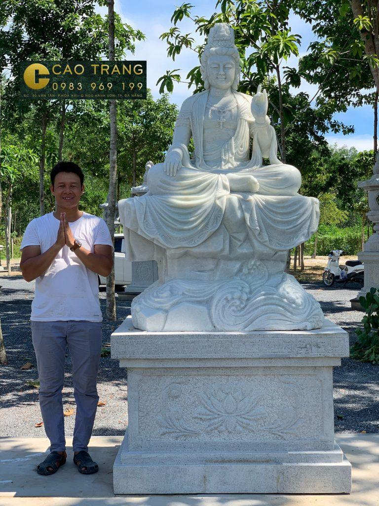 Tượng Phật Quan Âm Tự Tại