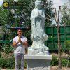 Tượng Phật Quan Âm Tự Tại bằng đá