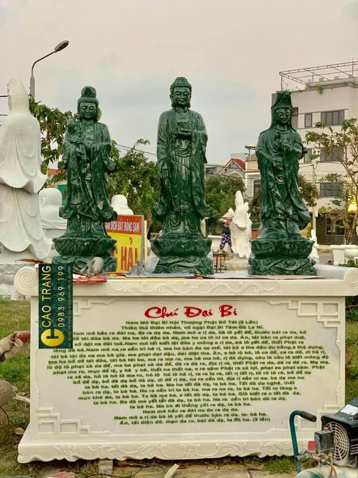 Bộ tượng Tây Phương Tam Thánh