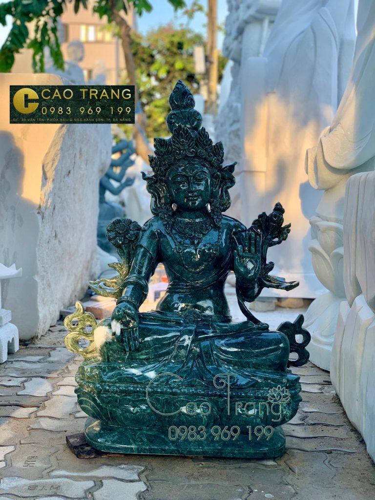 Tượng Quan Âm bằng đá Ấn Độ