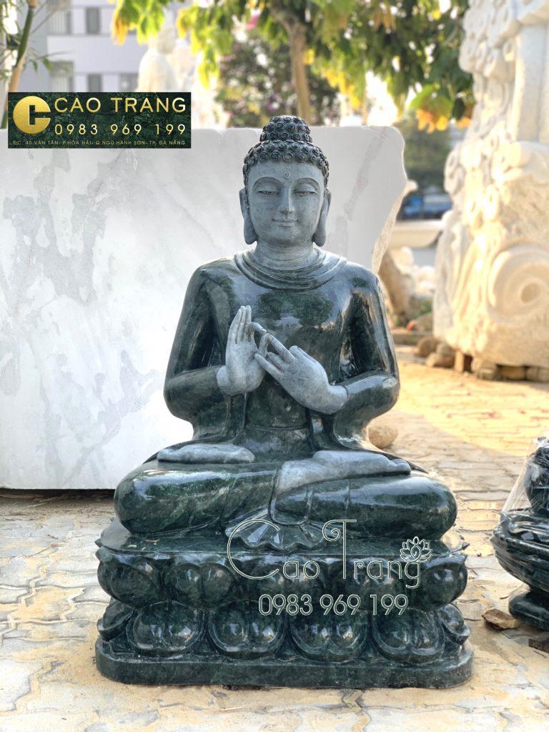 Tượng Thích Ca bằng đá Ấn Độ