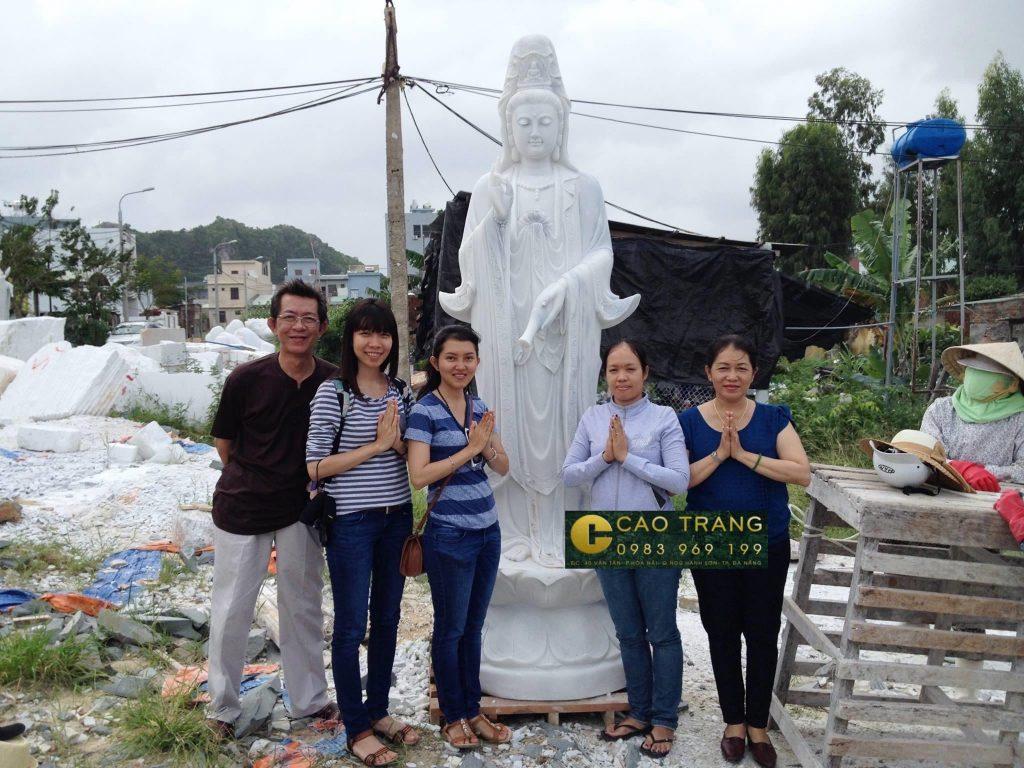Tượng Phật Quan Âm Đứng