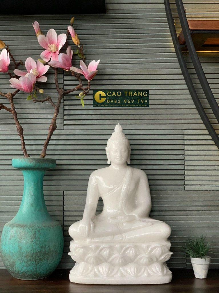 Tượng Phật Thích Ca Nhỏ Bằng Đá